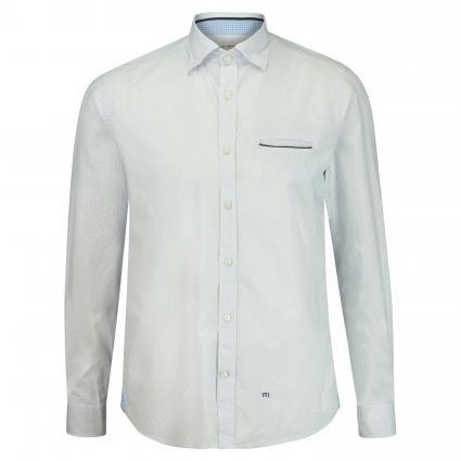 Button-Down Hemd 'Dobby' blau (67 Blue) | 41