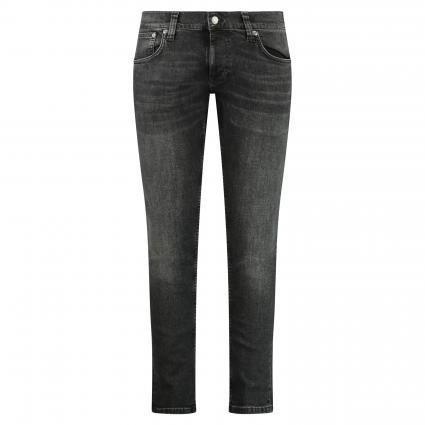 Slim-fit Jeans 'Tight Terry' aus Baumwolle  schwarz (black treats) | 28 | 32