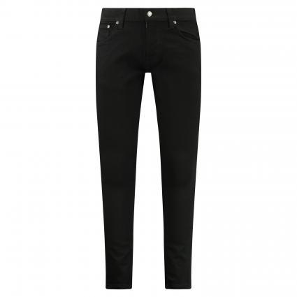 Slim-Fit Jeans 'Tight Terry' schwarz (everblack) | 33 | 34