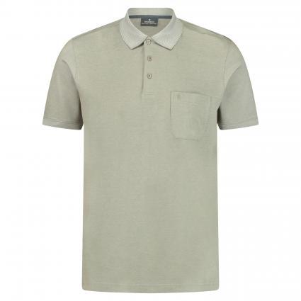 Poloshirt mit Brusttasche grau (215 Grey) | L