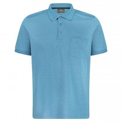Poloshirt mit Brusttasche türkis (702 Light Blue) | XXL