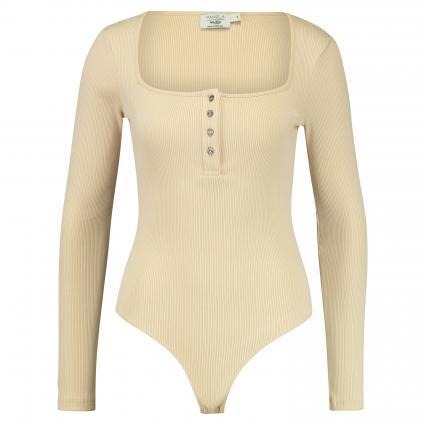 Langarm Body  beige (BEIGE) | M