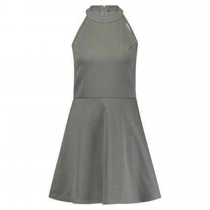 Kleid mit Neckholder-Kragen schwarz (BLACK) | L