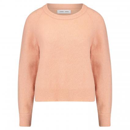 Pullover mit Rundhalsausschnitt beige (CAFE CREME MEL) | L
