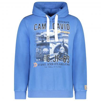 Sweatshirt mit Label-Print  blau (Skyblue) | L