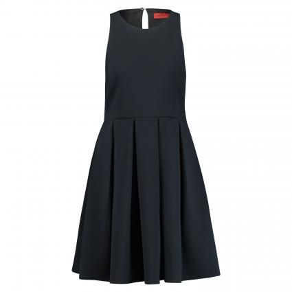 Kleid 'Carola' mit Kellerfalten schwarz (002) | 40