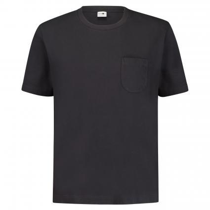 T-Shirt 'Dylon' mit Brusttasche  marine (200) | XL