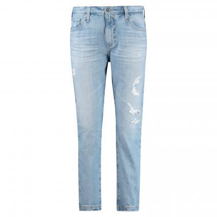 7/8 Straight Leg Jeans 'Isabelle' blau (23YCIN) | 32