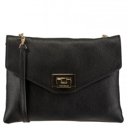 Tasche 'Florie' aus Leder schwarz (001 NOIR) | 0