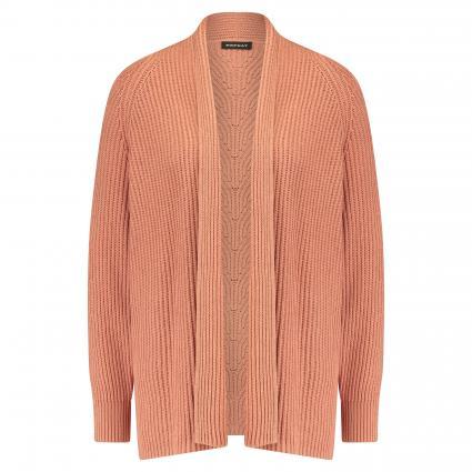 Strickjacke aus reiner Baumwolle rose (1277 blush) | 38