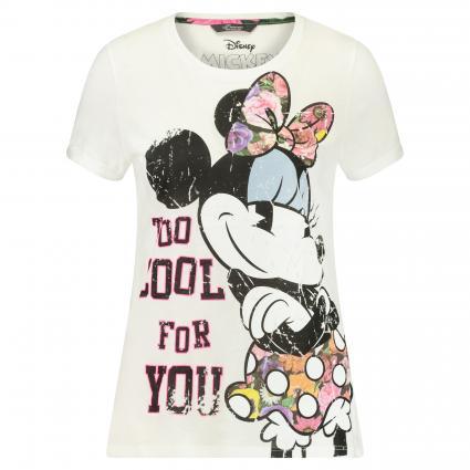 T-Shirt mit Disney-Print weiss (1100 weiß)   42