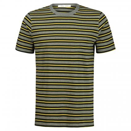 T-Shirt 'Biferno' mit Streifen  gelb (lemon curry stripe) | XL