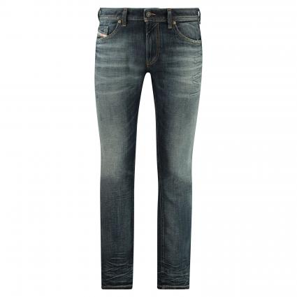 Slim-Fit Jeans 'Thommer' mit Destroyed-Details blau (96U blue dstry) | 33 | 32