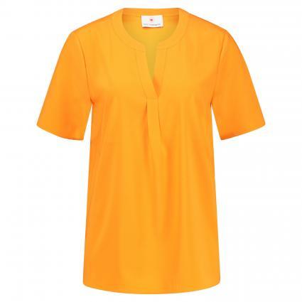 Blusenshirt aus Seide  orange (6653 capri) | 44