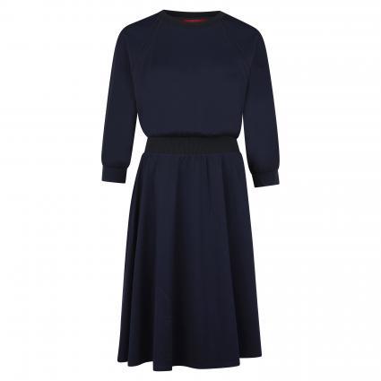Kleid 'Dadaismo' mit elastischem Bund blau (001 MIDNIGHT BLUE) | S