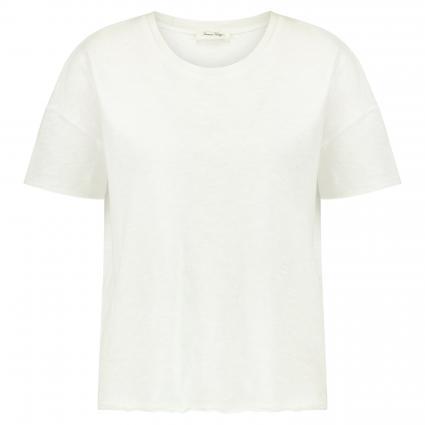T-Shirt 'Son' mit offenen Kanten pink (BOUGAINVILLIE) | L