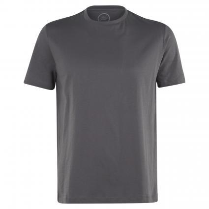 Basic Shirt mit Rundhalsausschnitt anthrazit (19245 Anthra) | L