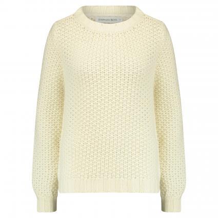 Pullover aus Cashmere ecru (861 chalk) | M