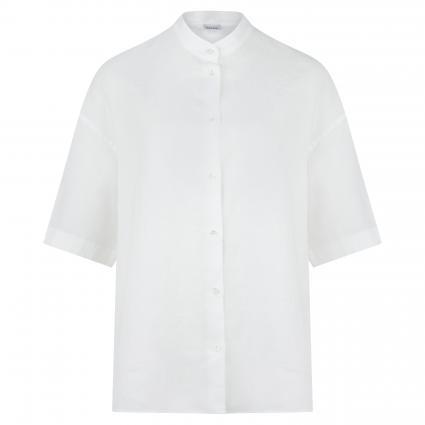 Oversize-Bluse aus Leinen weiss (85072 bianco) | 38