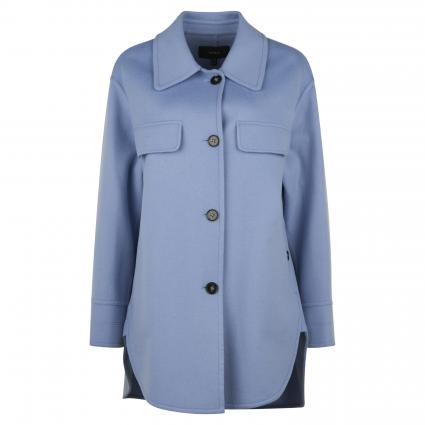 Wollmantel 'Isabeau' blau (denim)   34