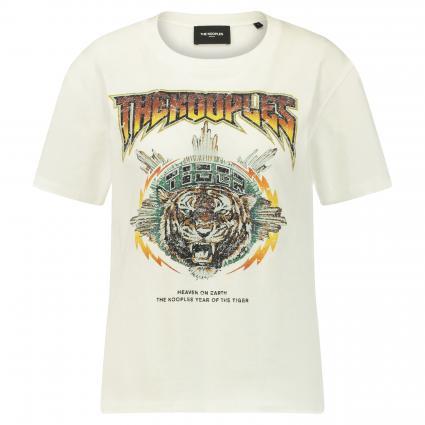 T-Shirt mit Print ecru (ECRU ECR01)   34