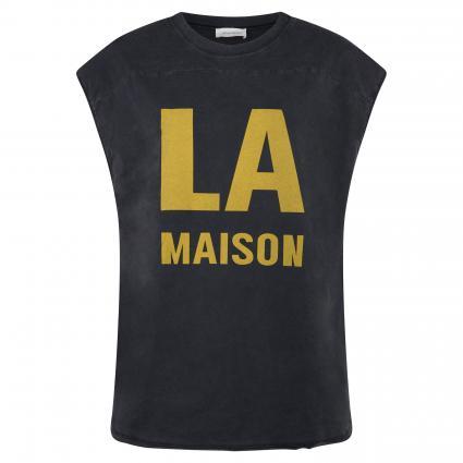 Ärmelloses Shirt 'Rom' mit Print anthrazit (CARBONE VINTAGE) | M/L
