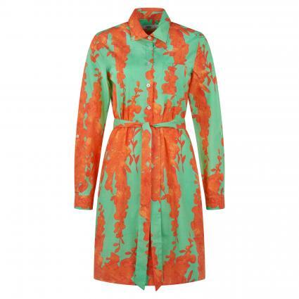 Blusenkleid 'Gracia' grün (01 grün/orange) | XS