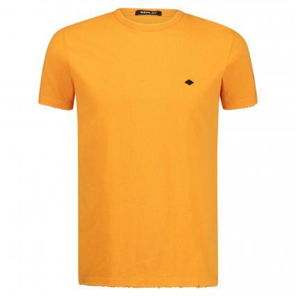T-Shirt mit ausgefranstem Saum divers (640) | XL