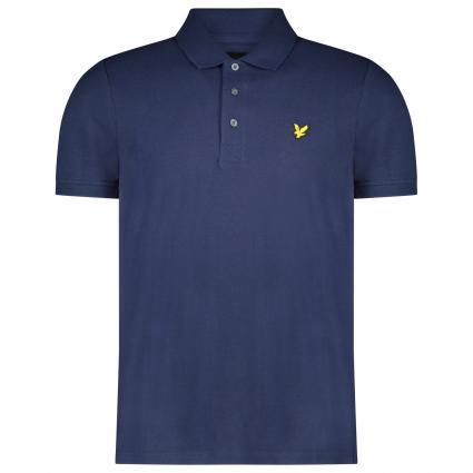 Poloshirt mit Piqué-Optik marine (Z99 navy) | M