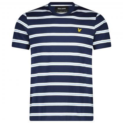 T.Shirt mit Streifen marine (Z99 navy stripe) | M