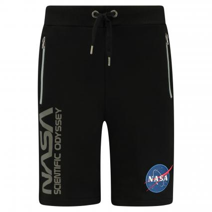 Shorts 'Odyssey' Zippertaschen schwarz (03 black) | S