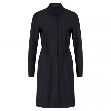 Hemdblusenkleid in cleaner Optik schwarz (900 black) | 44