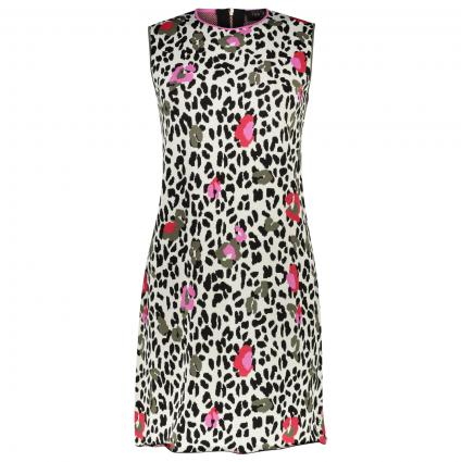 Kleid 'Pheebei' mit All-Over Muster  ecru (TAN) | 38