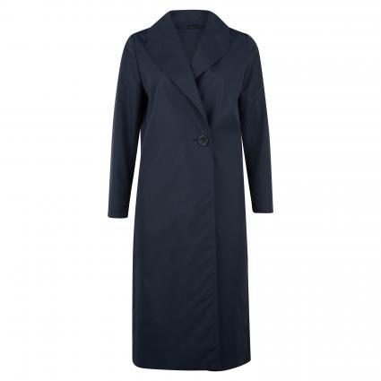 Mantel mit Reverskragen blau (2 marine) | 46