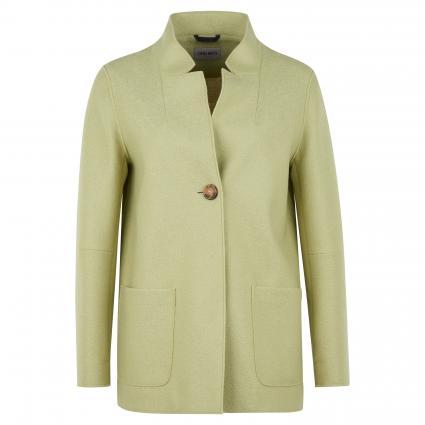 Jacke mit offener Kantenverarbeitung grün (3 grün)   44