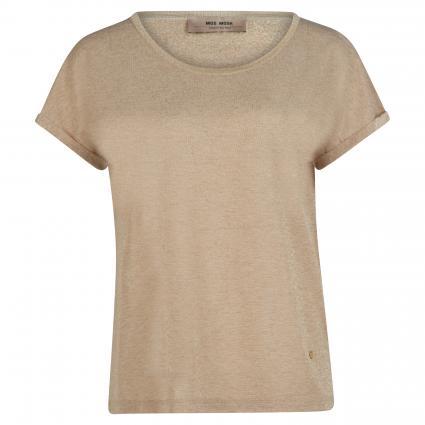Oversize-Shirt 'Kay' mit Glitzerdetails gold (912 GOLD) | S