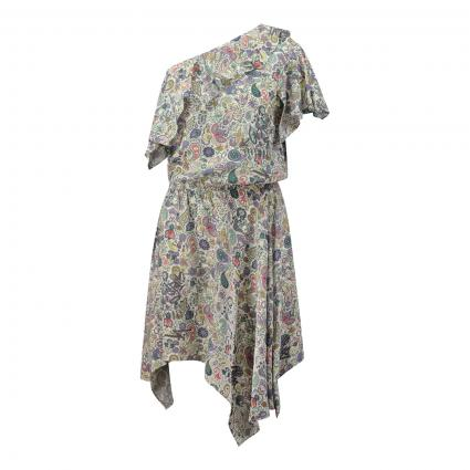 Kurzes Kleid 'Robbie' mit All-Over Print ecru (ECRU ECRU) | M
