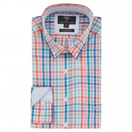 Regular-Fit Hemd mit Karomuster orange (8152 Orange) | L