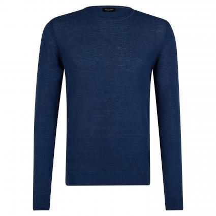 Pullover 'Basket' mit Rundhalsausschnitt blau (590) | L