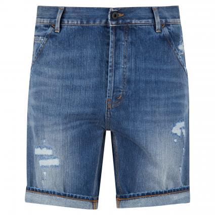 Regular-Fit Jeansshorts 'Julyan' mit Destroyed-Details blau (800) | 32