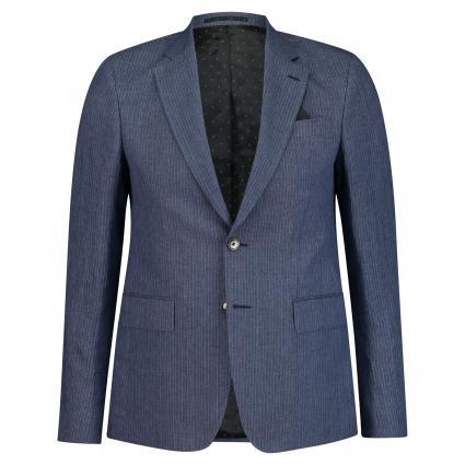 Slim-Fit Sakko 'Ringo Napoli' blau (520) | 48