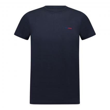 T-Shirt mit Druck marine (5500)   S