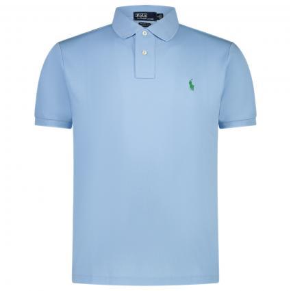 Slim-Fit Poloshirt 'Earth'  blau (004 BABY BLUE)   S