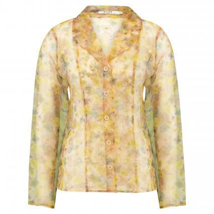 Transparente Bluse mit floraler Musterung rose (FLORAL PRINT) | 38