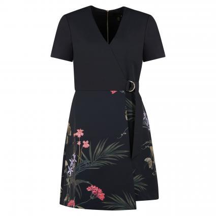 Kleid 'Mizalia' mit Schnallendetail schwarz (BLACK) | 36