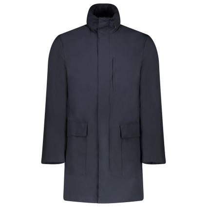 Packable Mantel mit Wasserabweisendem Stoff marine (920 MARINE )   50