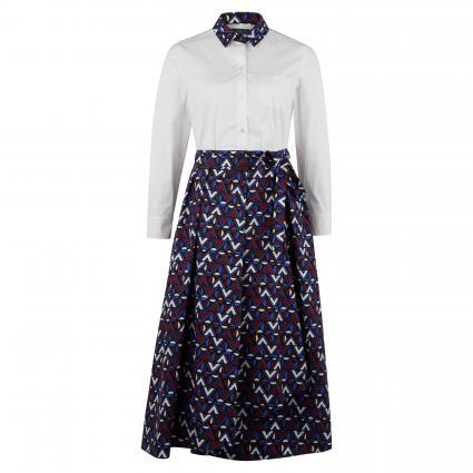 Kleid 'Grana' in Zweiteiler-Optik weiss (001 weiß AOP) | 42
