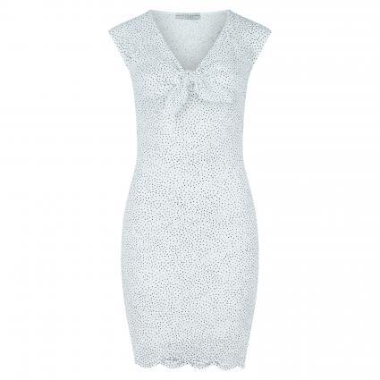 Kleid 'Vesta' weiss (F07N DOTS TRUE WHITE)   XL