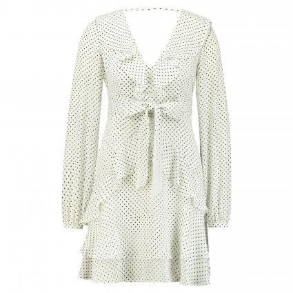 Kleid mit Pünktchenprint schwarz (P06J FAIR DOTS BLK W)   XS