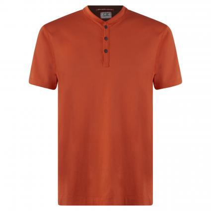 T-Shirt mit Knopfleiste divers (SPICY ORANGE 499) | L